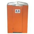 China New Outdoor Prefab Toilet Without Flush