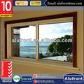 Double Glass PVC Sliding Window