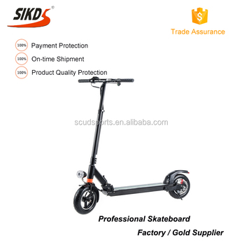 10inch electric scooter X series adult 2 wheels alloy folding scooter lithium powered
