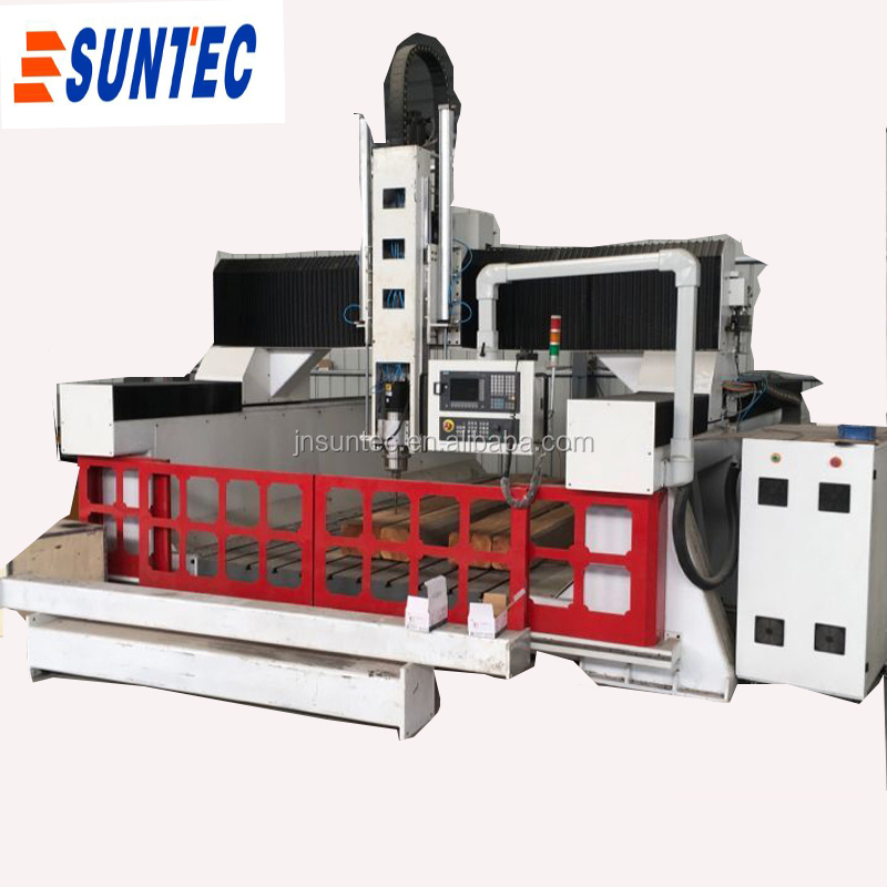 SIEMENS 4 axis control 3d model aluminum metal wood model making styrofoam cnc machine