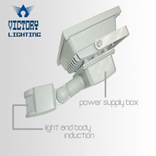 IP65 day night sensor lights with motion sensor led induction light for carport/staircase/fence gate/patio/balcony