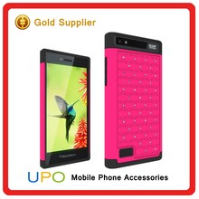 [UPO] Bling Diamond PC Silicone Cell Phone case cover for blackberry z20