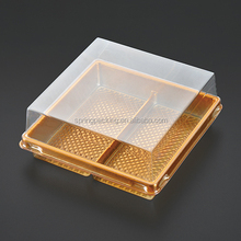 whole sale &custom style Plastic material cake tray &meat bakery pastry bread dessert tray boxes small middle large size