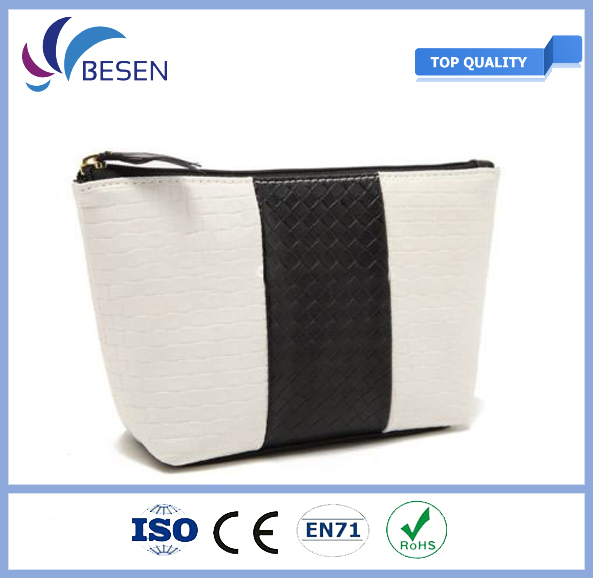 hot sale & high quality pi k sequin cosmetic bag with certificate