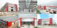 galvanized steel structure fabrication