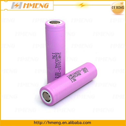 18650 battery cells for Samsung High Rate 20A discharge current INR18650-30Q 3000mah battery rechargeable