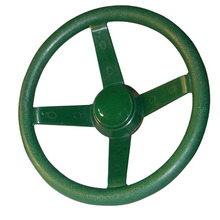 Plastic toy steering wheel for kids outdoor wood play house backyard
