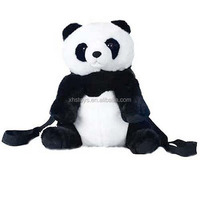 Cute Kids Animal Shaped Plush Backpack Panda,2014 Funny Panda Backpack