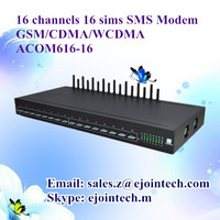 AT ussd goip http sip voip modem gateway 16 multi sim card bulk sms device with ethernet
