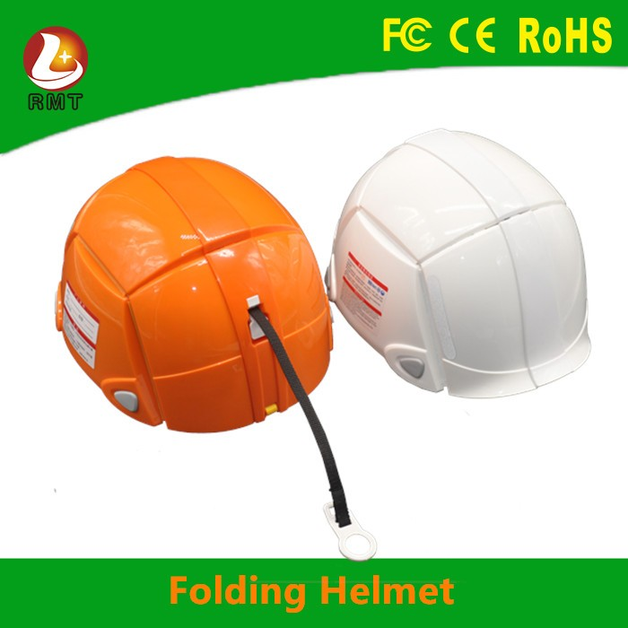 China Supplier Specialized Simple Shape protective Folding Helmet for Construction Workers
