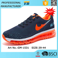Comfortable Flyknit Uppers Air Cushion Sole Sport Shoes Women