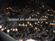 Chinese raw hair bulk, Asian virgin hair bulk