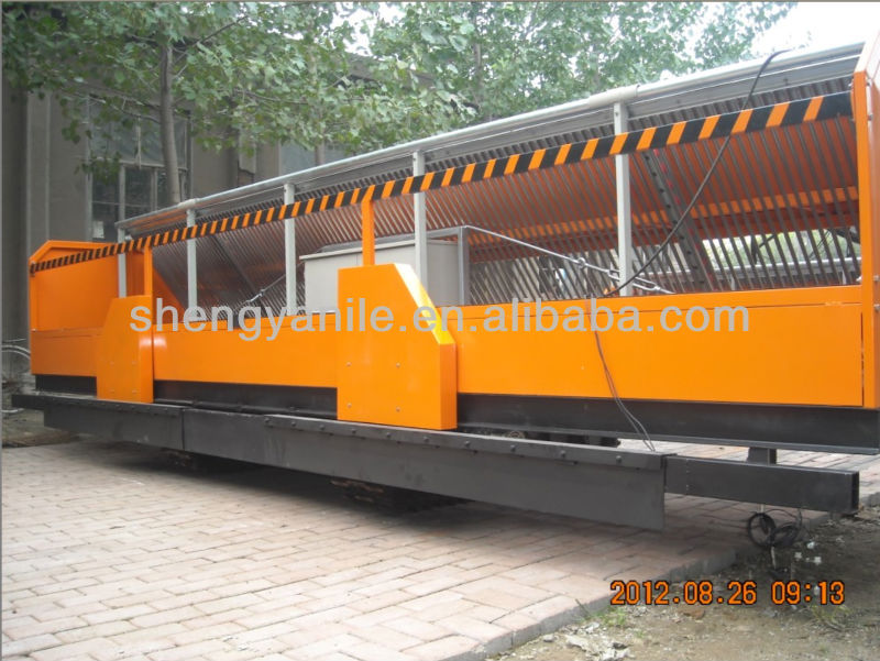 2014 Newest Shengya SY 4-600 Tiger stone block paving laying machine
