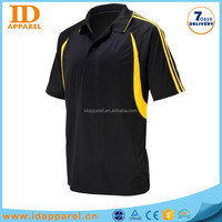 wholesale striped polo shirt , two-tone polo t shirt for man
