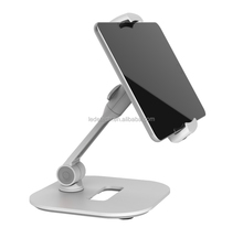hot sale ergonomic aluminium arm suction mount car adjustable laptop stand for smartphone tablet gps
