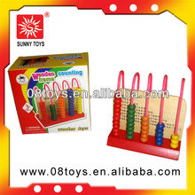 Children's eco traditional wooden math toys
