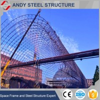 Space Frame Warehouse Coal Storage Shed