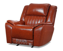 cow leather glider rocker recliner chair