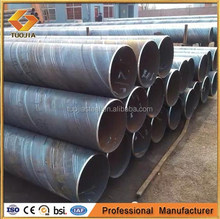 API Spec 5L X42, X46, X56 Oilfield Pipeline SSAW Spiral Welded Steel Line Pipe in oil and gas industry manufacturer