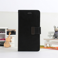 for iphone 4/4S fancy PU leather wallet case shockproof mobile phone case