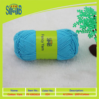 factory direct sale 2016 new product OEKO-TEX quality baby cotton knitting yarn 100% cotton yarn made in China