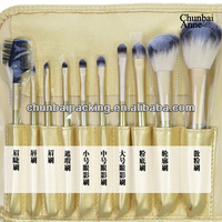 2013 best selling professional 13pcs makeup brushes set cosmetic brushes kit