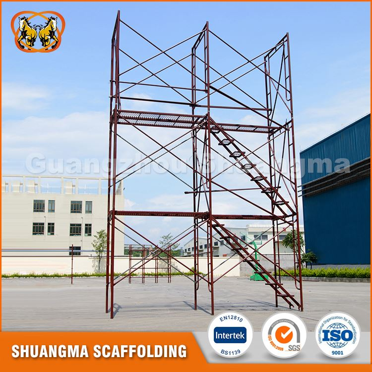 Hot sale high protected painted scaffolding material specification