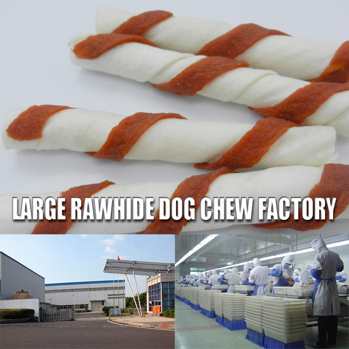 Rawhide dog chews inserted Cat Snack Type of Chicken oriental snacks munchy rawhide pet food beef made knotted bone
