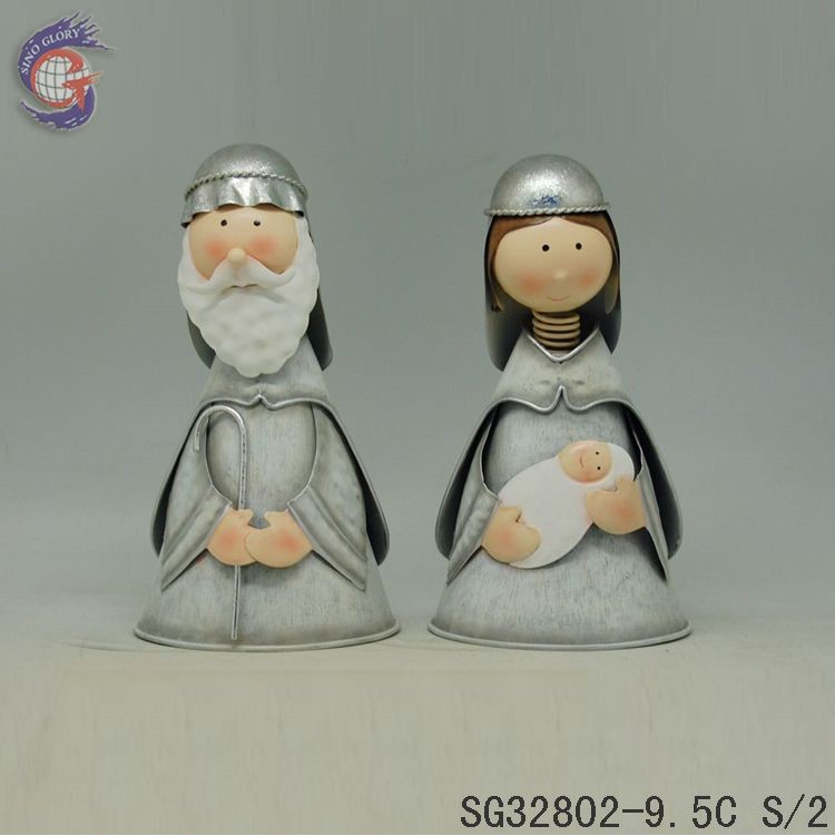 Holy Farther and Virgin Mary For Home Decorations