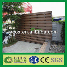 Exterior Wood Plastic Composite WPC Cladding Board