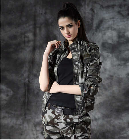 New design Women Hunting camo all climate jacket