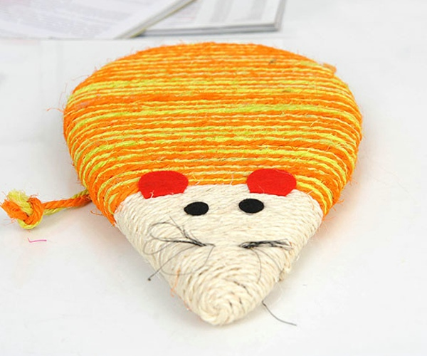 New product best selling pet sisal scratching toy for cat