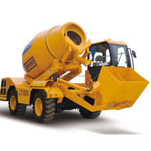 Diesel Mobile Self-Loading Concrete Mixer with high quality