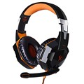 Over-the-ear 3.5mm USB Wired Gaming Headset With Noise-cancelling Boom Microphone For Laptop PC Computer