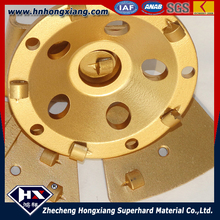 bowel shapped diamond cup grinding wheel for granite and marble/can be customized