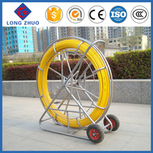 FRP rebar/Fiberglass duct rodder ,fiberglass pultrusion machine ,push rod cable reel