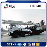 DFC-400 truck mounted water well drilling rig