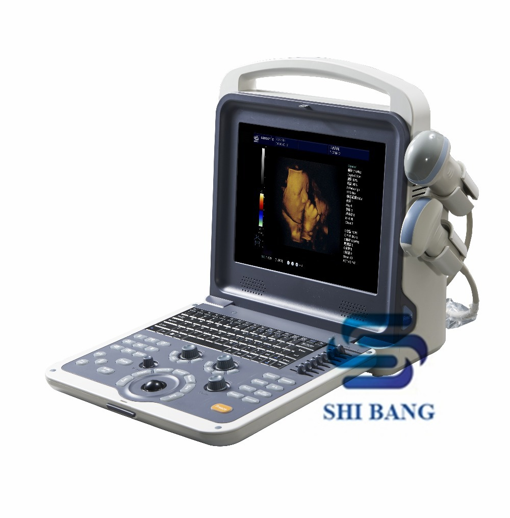 SJ-K6 Economic Style 4D Trolley Color Doppler Ultrasound Scanner with CRT Display, CE approved
