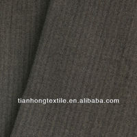 Polyester Rayon Stripe Stretch Fabric Textile