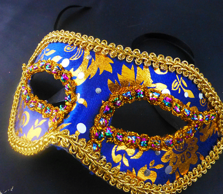 YIWU caddy HP-81 Manufacturers Selling Venice Mask Lace Cloth Mask