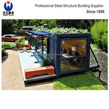 Cheap Easy To Install 20 feet Construction Site Prefabricated Container House