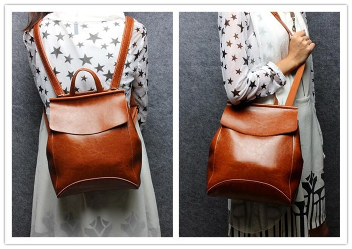 Hot fashion leather backpack for Young Ladies ,high quality backpack manufacturers from china _10