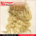 Vipsister Hair blonde lace frontal 360 lace frontal pre plucked lace frontal