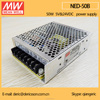 MEAN WELL Dual Voltage Switching Power Supply Output 50W 5V 24V NED-50B