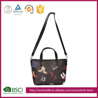 fashion cotton lady hand bag and canvas tote bag