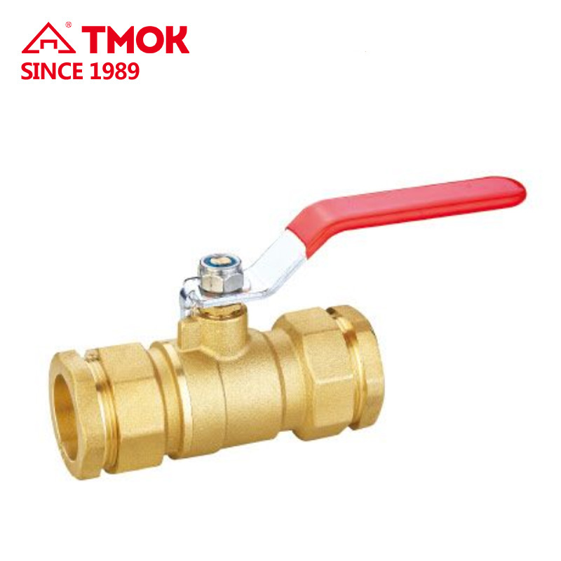 "Mueller 107-858 2"" Sweat Brass Ball Valve Full Port, Shut-Off Valves, 600psi WOG with forged nickel-plated Npt threaded hydrauli"