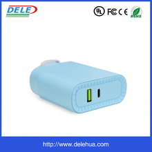 New Design Small Size 5V 4.8A LED display fast wall charger for DELL