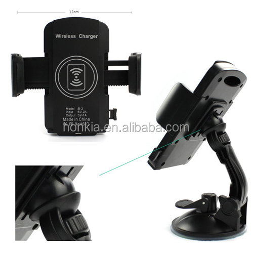 For all Smart Phone Car Charger, Wireless Battery Charger Mobile Phone Car Holder