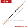 unique 4 section humanized carbon salmon fishing rod