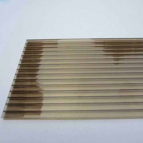 polycarbonate sheet transparent plastic sheet pc hollow sheet sunroom panels for sale